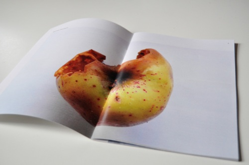 Magazine with apple